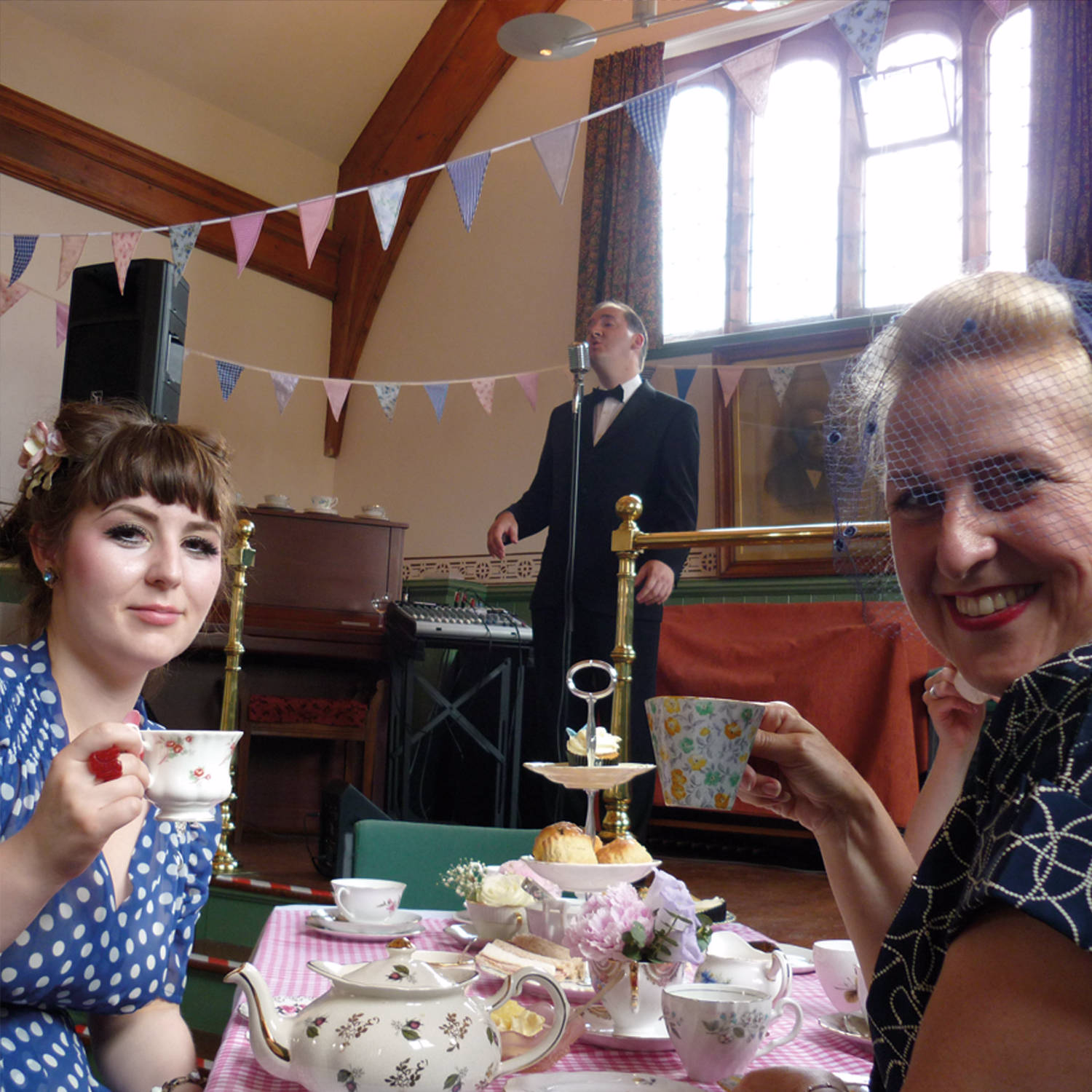 Afternoon tea vintage entertainment