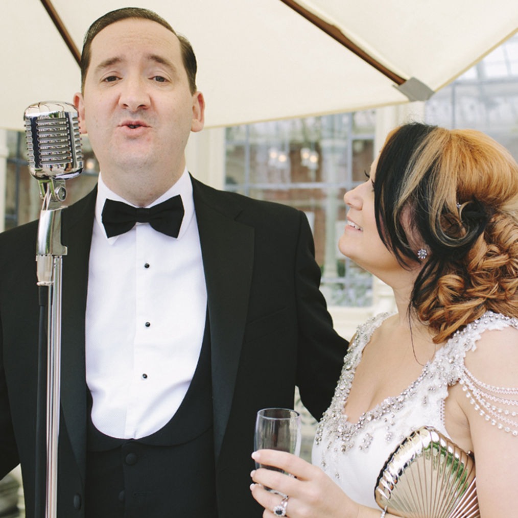 Vintage wedding music and entertainment